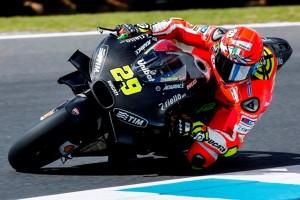 """MotoGP Test Phillip Island: Andrea Iannone """"Giornata positiva, speriamo di poter lavorare bene anche domani"""""""