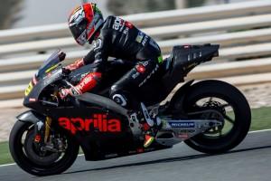 MotoGP Test Qatar: Positivo debutto per l'Aprilia RS-GP 2016