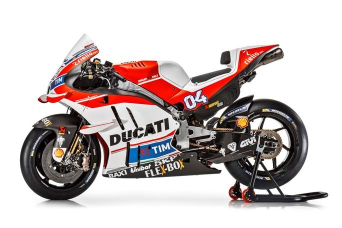 MotoGP: Le specifiche tecniche della nuova Ducati Desmosedici GP