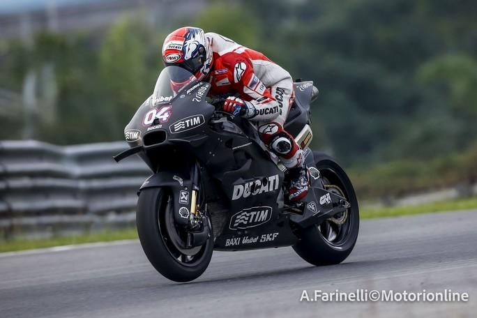 "MotoGP: Sepang Day 3, Andrea Dovizioso ""Non ho potuto girare quanto avrei voluto"""