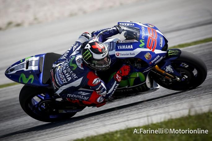 "MotoGP: Sepang Day 3, Jorge Lorenzo ""I tempi sul giro parlano da soli"""
