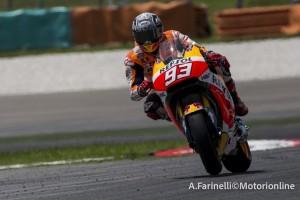 """MotoGP: Test Sepang Day 2, Marc Marquez """"Fatti passi avanti ma c'è ancora da lavorare"""""""