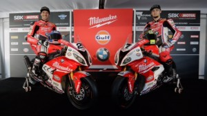 Superbike: A Phillip Island presentato il team Milwaukee BMW