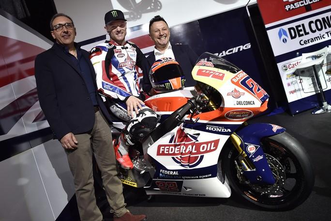 Moto2: Presentato il Team Gresini, che schiererà Sam Lowes in sella alla Kalex