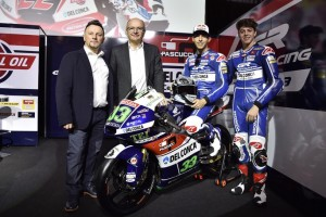 Moto3: Presentato il Team Gresini, che schiererà Enea Bastianini e Fabio Di Giannantonio