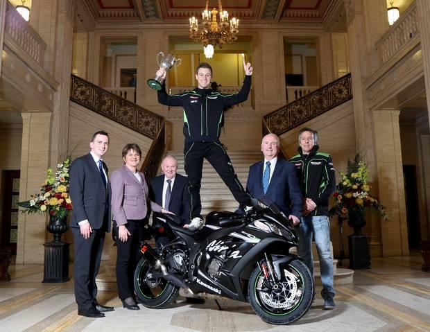 Superbike: Jonathan Rea è l'Irish Motorcyclist of the Year