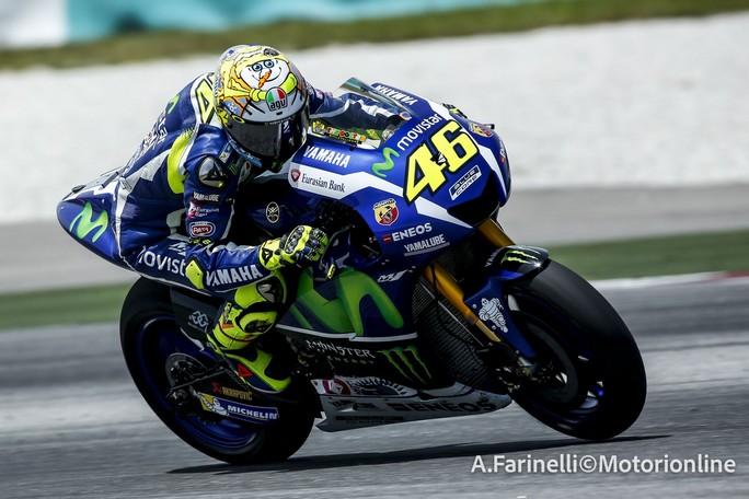 """MotoGP: Sepang Day 3, Valentino Rossi """"Abbiamo fatto un buon lavoro"""""""