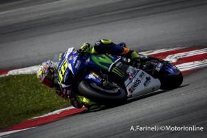 """MotoGP: Test Sepang Day 1, Valentino Rossi, """"Michelin ed elettronica sono migliorate"""""""