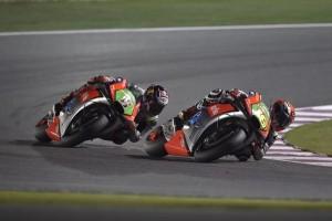 MotoGP Qatar: Aprilia, 3 punti all'esordio con la moto nuova per Bautista