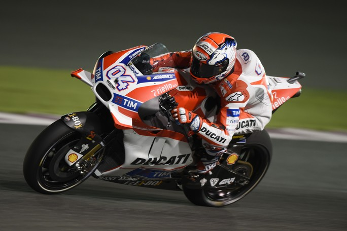 MotoGP Qatar: Dovizioso 4°, ha trovato la giusta direzione