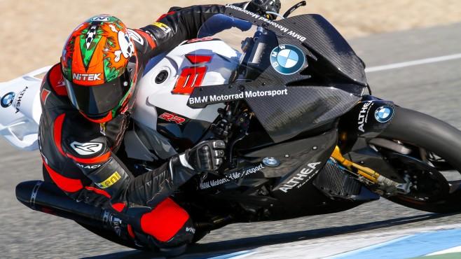 Superbike: Fine settimana positivo per il Team Althea BMW