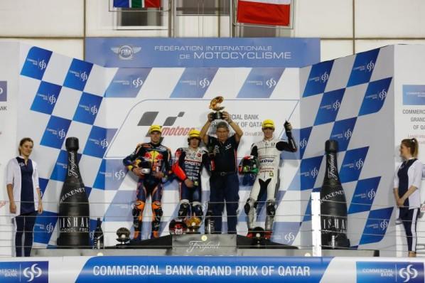 """Moto3 Qatar: Niccolò Antonelli """"Gara pazzesca, sono contentissimo per questa vittoria!"""""""