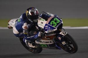 """Moto3 Test Qatar: Enea Bastianini """"Giornata iniziata bene, poi ho perso tempo con la caduta, peccato!"""""""