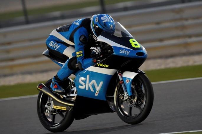 Moto3 Test Qatar Day 2: Loi al comando, ottimo 3° tempo per Bulega