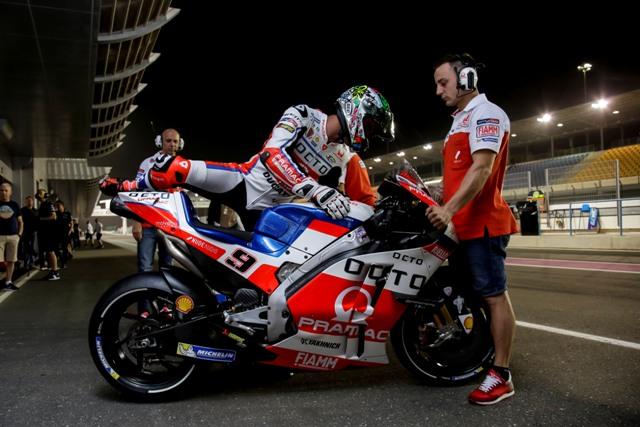 """MotoGP Qatar: Danilo Petrucci """"Un mese dopo l'infortunio era dura oggi, ma sono davvero contento"""""""