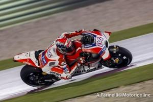 """MotoGP Test Qatar: Andrea Dovizioso """"Giornata molto produttiva, sono davvero soddisfatto"""""""