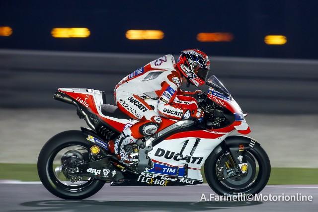 """MotoGP Test Losail: Andrea Dovizioso """"Giornata produttiva, questi pneumatici Michelin sono particolari"""""""