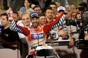 """MotoGP Qatar: Andrea Dovizioso """"Inizio da sogno, a volte mi perdo ma nei momenti importanti ci sono"""""""