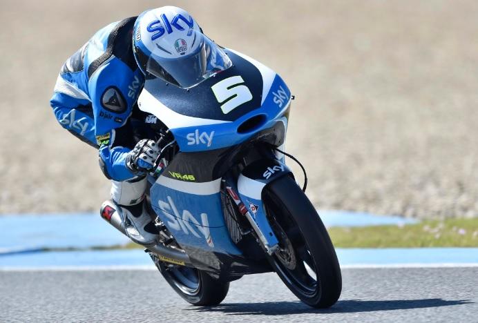 Moto3 Test Irta Jerez: Parola a Romano Fenati e Nicolò Bulega, assoluti protagonisti a Jerez
