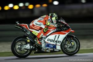 """MotoGP Qatar: Andrea Iannone """"Ero davvero veloce, ma ho toccato la linea bianca e la moto è volata via"""""""