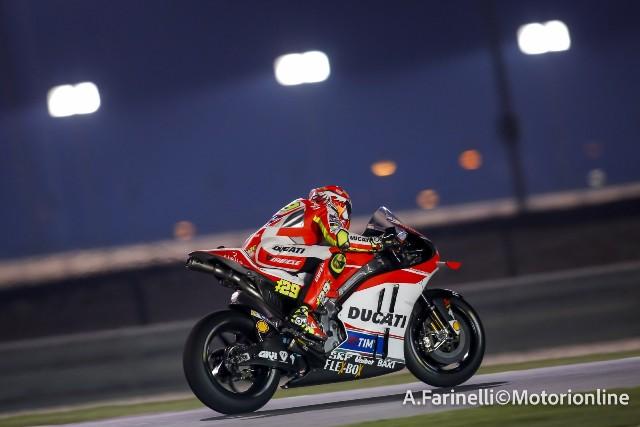 """MotoGP Test Qatar: Andrea Iannone """"Il pacchetto su questa pista è molto buono e posso migliorare ancora"""""""
