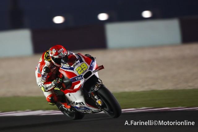 """MotoGP Test Qatar: Andrea Iannone """"Tranquillo e sereno però la simulazione di gara non è andata come volevo"""""""