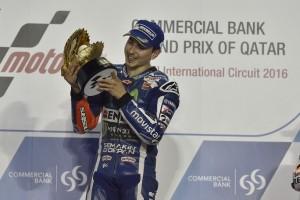 """MotoGP Qatar: Jorge Lorenzo, """"Ho corso una delle migliori gare della mia carriera"""""""