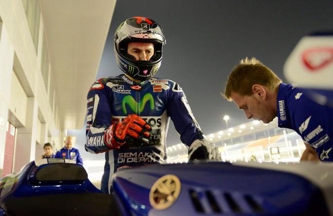 """MotoGP Qatar: Jorge Lorenzo, """"Questa pole mi proietta in vetta alla storia"""""""