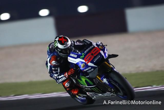 """MotoGP Test Qatar: Jorge Lorenzo """"Felice di aver fatto il best lap, ma queste gomme si consumano velocemente"""""""