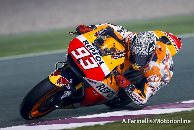 """MotoGP Qatar: Marc Marquez """"Finalmente si parte anche se la moto ha ancora tanto da migliorare"""""""