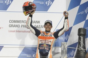 """MotoGP Qartar: Marc Marquez """"Felice per il 3° posto, solo 14 giorni fa ero lontanissimo dal podio"""""""