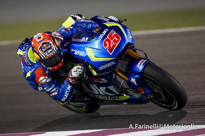 MotoGP Test Qatar Day 2: Vinales grande protagonista, bene Iannone, Rossi è 8°
