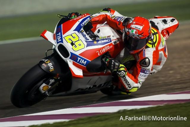 Test MotoGP Qatar, Viñales: fatto un grande lavoro