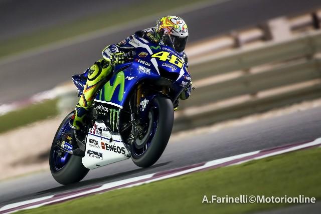 """MotoGP Test Qatar: Valentino Rossi """"Giornata ok, certo il mio best lap non è fantastico però…"""""""
