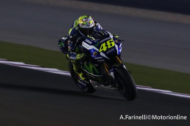 """MotoGP Test Qatar: Valentino Rossi """"Buon passo gara, con queste gomme gli ultimi giri saranno duri per tutti"""""""