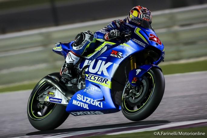 """MotoGP Qatar: Maverick Viñales, """"Orgoglioso della prima fila"""""""