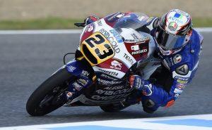 """Moto3 Jerez: Niccolò Antonelli 3°, """"Sono contento di questa giornata"""""""