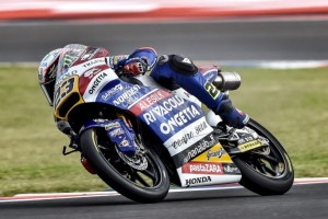 Moto3 Argentina: Antonelli domani al via dalla terza fila