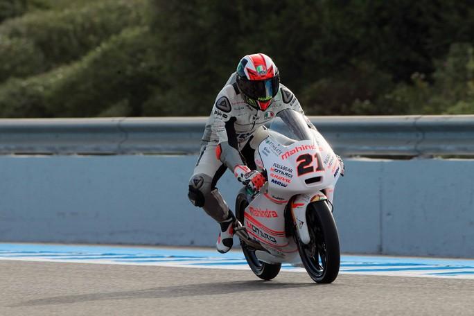 """Moto3 Jerez: Pecco Bagnaia 6°, """"Oggi è stata una giornata positiva"""""""