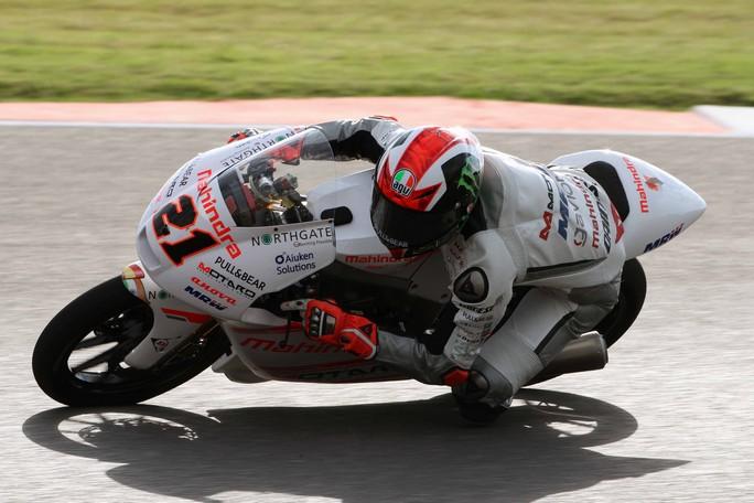 Moto3 Argentina: Bagnaia solo 24°, coinvolto in una maxi caduta