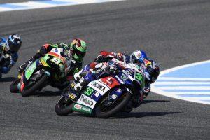 Moto3 Jerez: Bastianini in difficoltà 8°, peccato per la caduta di Di Giannantonio