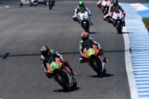 MotoGP Jerez: Bautista caduto, Bradl 14°