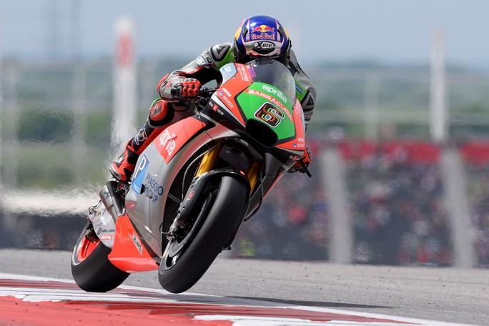 MotoGP Austin: segnali incoraggianti dalle Aprilia