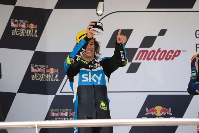 Moto3 Jerez: Bulega 2°, sta nascendo una stella, Fenati 7° e Migno 11°
