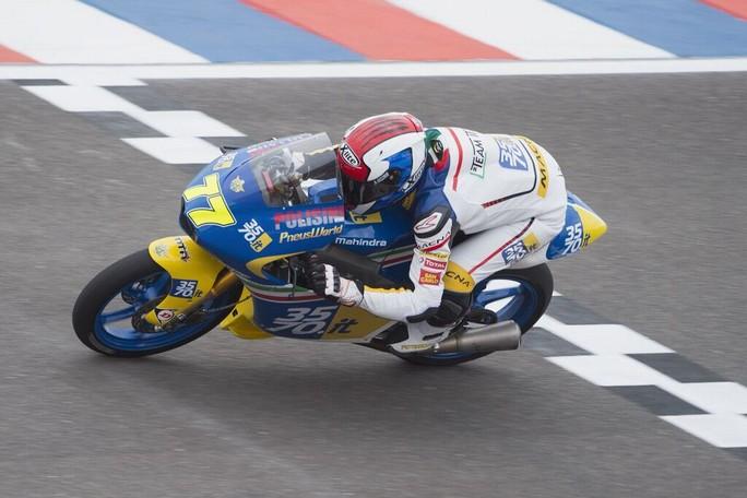 Moto3 Argentina: Lorenzo Petrarca 31° e Stefano Valtulini 32°