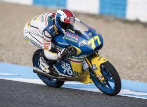 Moto3 Jerez: Lorenzo Petrarca 32°, tegola su Valtulini