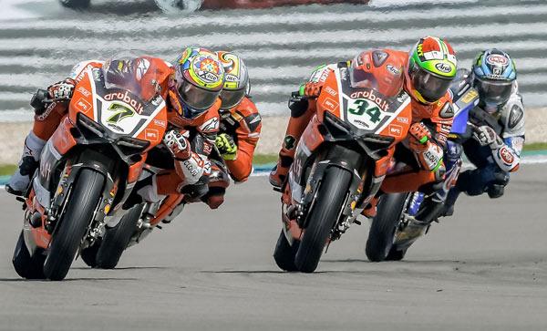 Prosecco DOC Dutch Round: Gara 2 complicata per Ducati