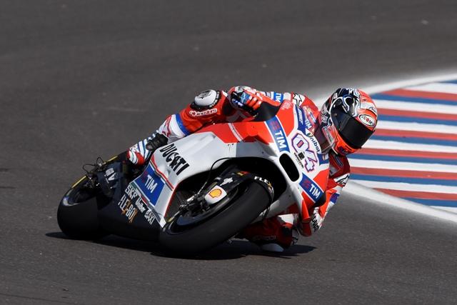 """MotoGP Argentina: Andrea Dovizioso """"Tanto lavoro da fare, ma la posizione di oggi non è reale"""""""