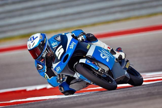 Moto3 Austin: Inizia alla grande lo Sky Racing team con Fenati 2° e Bulega 6°