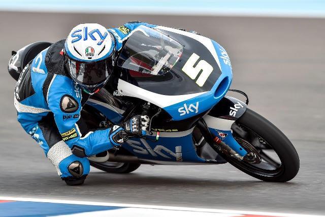 Moto3 Gp Argentina: Inizia alla grande il team Sky VR46 con Fenati 2°, Migno 3° e Bulega 10°